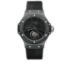Hublot Big Bang All Black Tourbillon Mens Watch 302.CI.134.RX.190