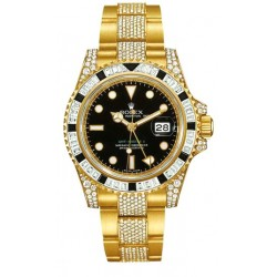 Rolex Oyster Perpetual GMT Master II Mens Watch 116758-SANR