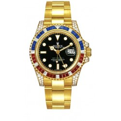 Rolex Oyster Perpetual GMT Master II Mens Watch 116758-SARU