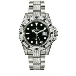 Rolex Oyster Perpetual GMT Master II Mens Watch 116759-SANR