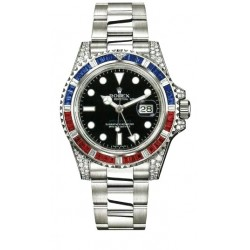Rolex Oyster Perpetual GMT Master II Mens Watch 116759-SARU