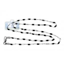 10K White Gold Womens Custom Chain 16 Inches