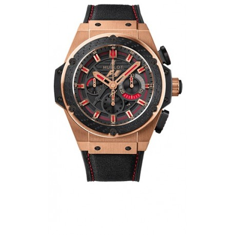 Hublot Big Bang F1 King Power Gold Mens Watch 703.OM.1138.NR.FMO10