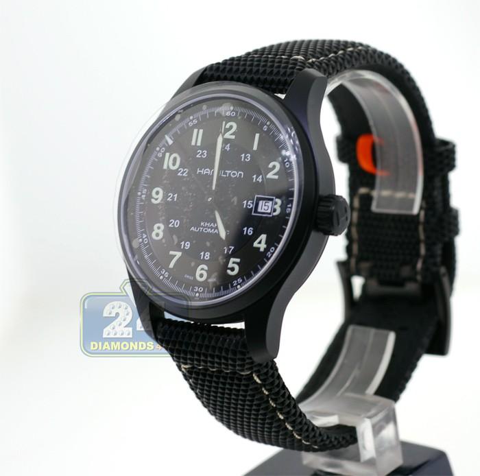 12b2e302598 Hamilton Khaki Field Titanium Auto Mens Watch H70575733