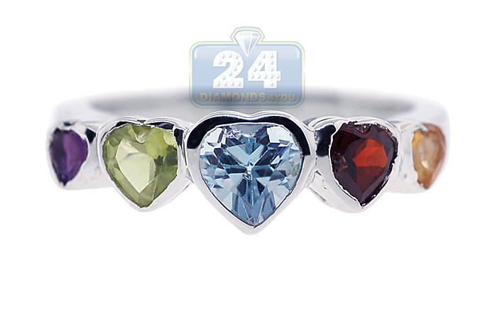 925 Sterling Silver Marquise Cut 1.45 Ct Tanzanite Gemstone Women Cluster Ring