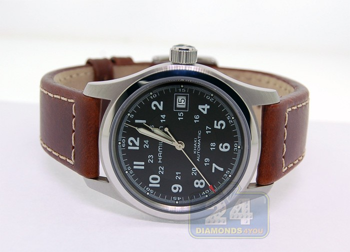 4794d1acbb92 Hamilton Khaki Field Automatic Mens Watch H70455533