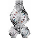 Fendi Crazy Carats Steel Bracelet 38 mm Womens Watch F105036000T02