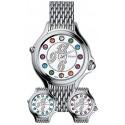Fendi Crazy Carats Steel Bracelet 38 mm Womens Watch F105036000D1T02