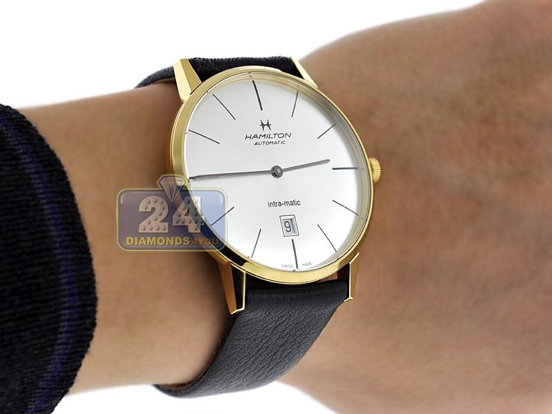 d87d499a4 Hamilton Intra-Matic Automatic Mens Watch H38735751