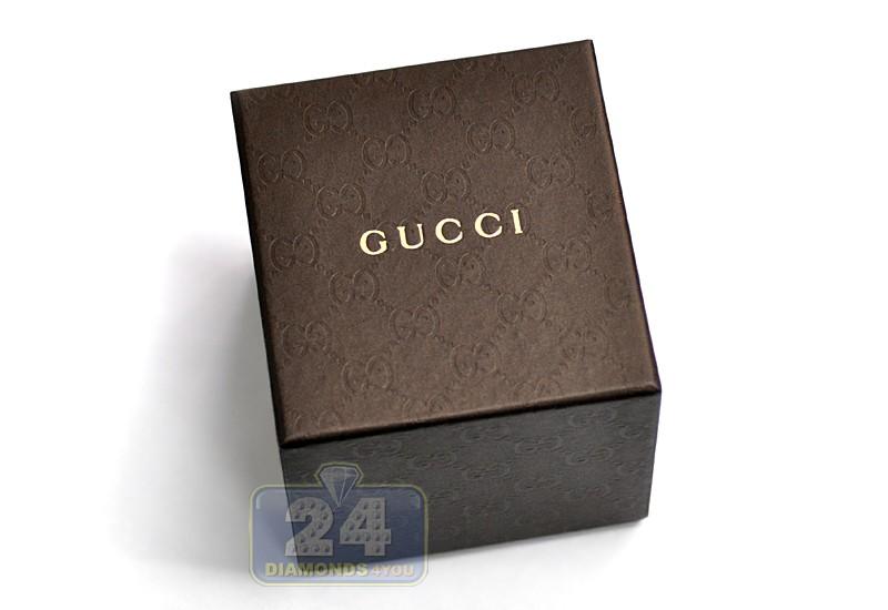 508a6f3491e ... Gucci G-Timeless Slim Steel Mesh Bracelet Mens Watch YA126301