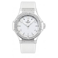 Hublot Big Bang All White Diamond Womens Watch 361.SE.2010.RW.1104