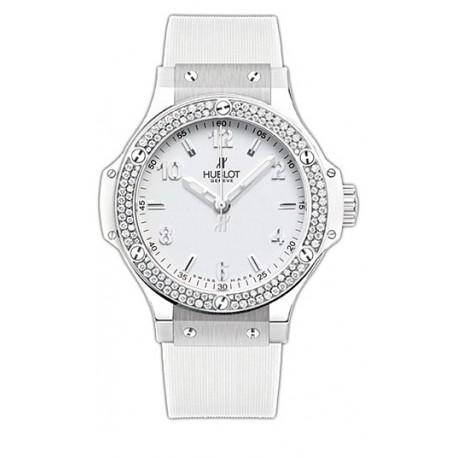 Hublot Big Bang All White Diamond Womens Watch 361.SE.2010.RW.1104