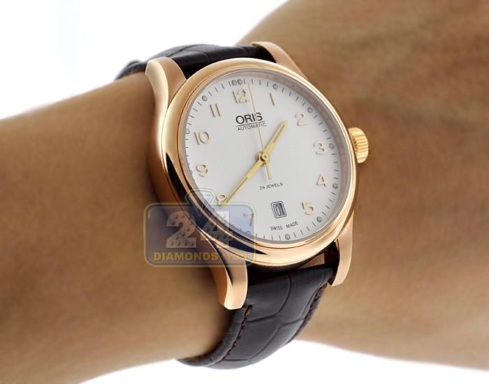 fa103672789 Oris Classic Date Watch 01 733 7594 4891-07 6 20 12