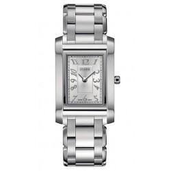 F775260 Fendi Loop Rectangle Silver Dial Womens Bracelet Watch