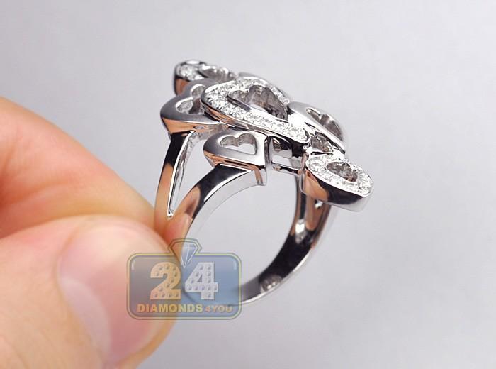 Womens Diamond Dinner Rings