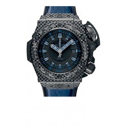 Hublot Oceanographic 4000 All Black Blue Watch 731.QX.1190.GR.ABB12