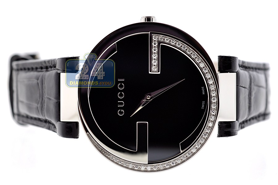 341f12deff5 ... Gucci Interlocking Large Diamond Womens Watch YA133305 ...