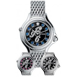 Fendi Crazy Carats Steel Bracelet 38 mm Watch F105031000B3P02