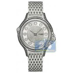 Fendi Precious Pave Crazy Carats Watch F105031000P4P02