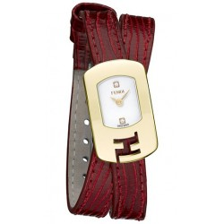 Fendi Chameleon Double Wrap Red Womens Watch F301424073D1
