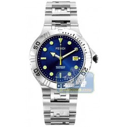F496130 Fendi High Speed Nautical Automatic Mens Watch 43mm