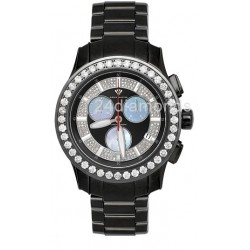 Aqua Master Power 8.00 ct Diamond Black Watch 0800