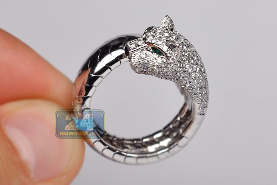 head or cut boho new products silver gold rings luardano cat black plated amazing finger mid animal in persian fashion metal lovely