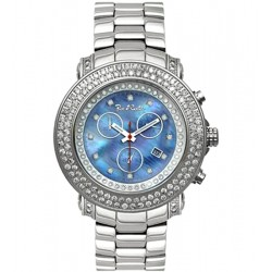 Mens Diamond Blue Dial Watch Joe Rodeo Junior JJU8 4.75 Carat
