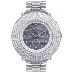 Mens 4 Rows Diamond Watch Joe Rodeo Junior JJU52 9.00 Carat