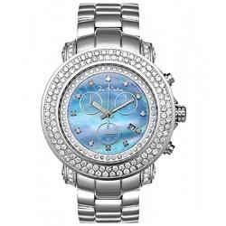 Mens Diamond Blue Watch Joe Rodeo Junior JJU116 6.75 Carats