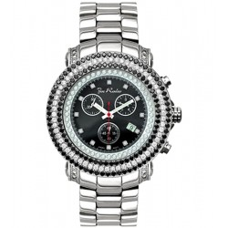 Mens 3 Row Diamond Bezel Watch Joe Rodeo Junior RJJU1 7.0 ct