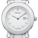 Fendi White Ceramic Round 38 mm Womens Watch F642140