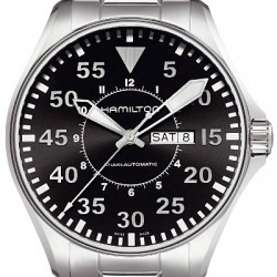 Hamilton Khaki Aviation Pilot Auto Mens Watch H64715135