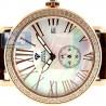 Womens Diamond Rose Gold Watch Aqua Master Automatic 1.25 ct