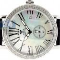 Aqua Master Automatic 1.25 ct Diamond Womens Silver Watch