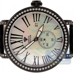 Aqua Master Automatic 5.64 ct Full Diamond Case Mens Watch