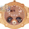 Aqua Master Automatic 0.20 ct Diamond Mens Yellow Watch