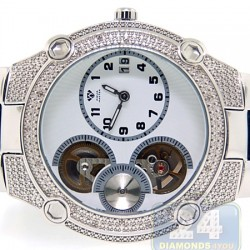 Aqua Master Automatic 0.20 ct Diamond Mens Steel Watch
