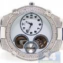 Aqua Master Automatic 0.20 ct Diamond Mens Steel Watch