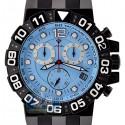 Aqua Master Sport Chrono 0.24 ct Diamond Mens Sky Blue Watch