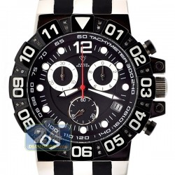 Aqua Master Sport Chrono 0.24 ct Diamond Mens Black Dial Watch