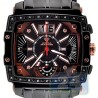 Aqua Master Big Date 0.10 ct Diamond Mens Two Tone Watch