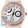 Aqua Master Classique .50 ct Diamond Womens Rose Gold Watch