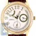 Aqua Master Classique 0.50 ct Diamond Womens Yellow Steel Watch