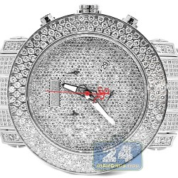 Joe Rodeo Junior 25.5 ct Iced Out Diamond Silver Watch RJJU50