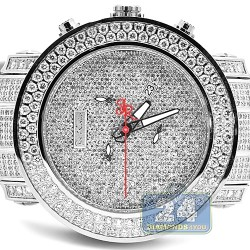 Joe Rodeo Junior 23.90 ct Iced Out Diamond Mens Watch RJJU27