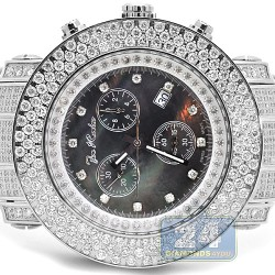 Joe Rodeo Junior 17.50 ct Diamond Black Dial Watch JJU26