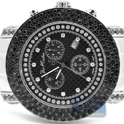 Mens Black Diamond Watch Joe Rodeo Junior JJU45 6.00 Carats