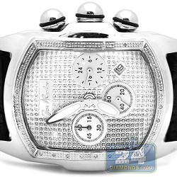 Joe Rodeo King Bubble 0.36 ct Diamond Mens Watch JKI29