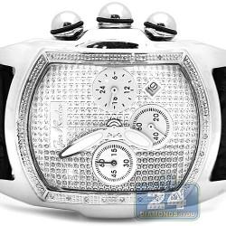 Joe Rodeo King Bubble 0.36 ct Diamond Mens Watch JKI29